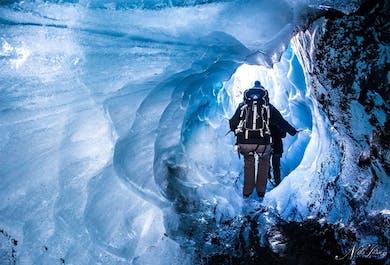 斯卡夫塔山冰川徒步旅行团-来冰岛星际穿越|超值优惠|自驾到集合地,深度中等级别