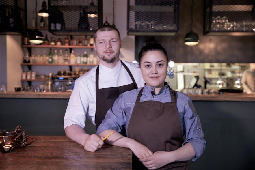 Owners of Von Mathús restaurant