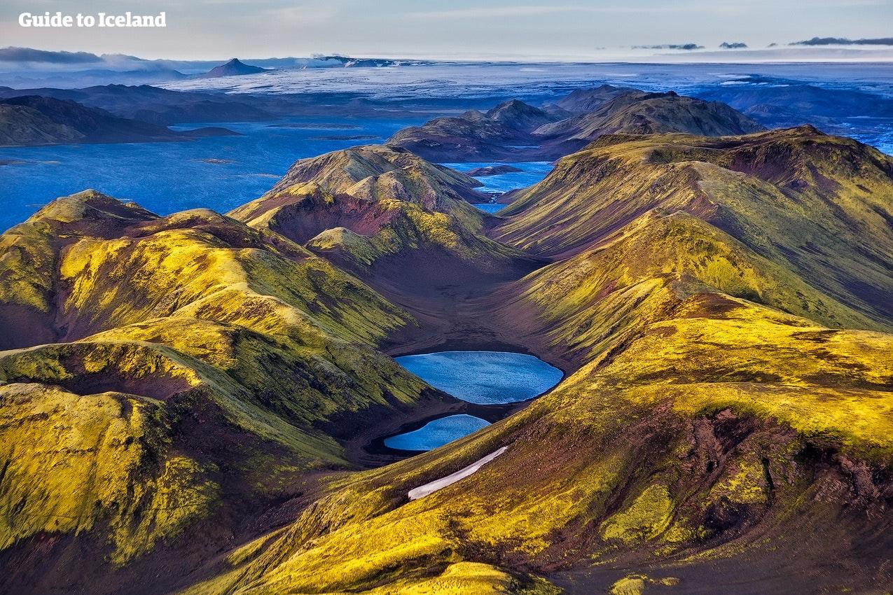 Islands Campingplätzen befinden sich in wundervoller Natur