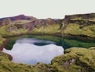 Journée dans les Hautes Terres   Cratères de Lakagigar et canyon Fjadrargljufur en Super Jeep