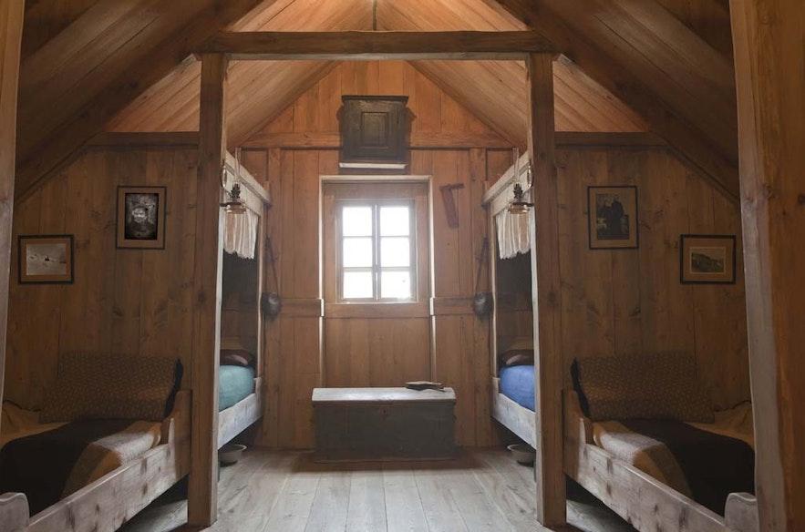 Rustic, clean design defines the Wilderness Centre. Photo Credit: Óbyggðasetrið Íslands, wilderness.is