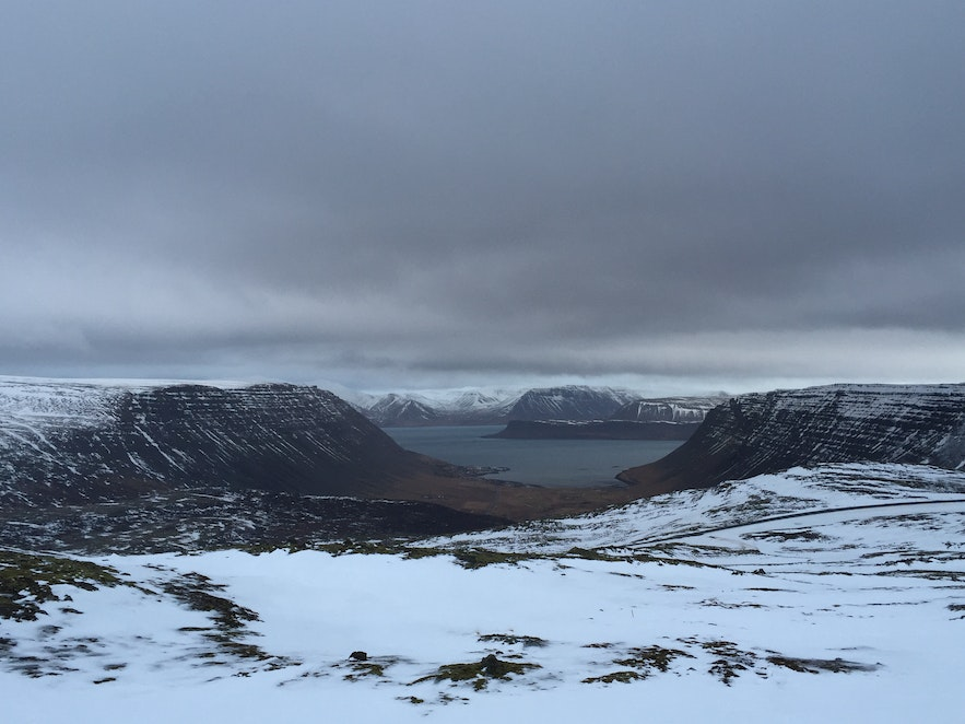 The view from Halfdan