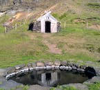In the Westfjords, you will notable examples of traditional Icelandic turf homes.