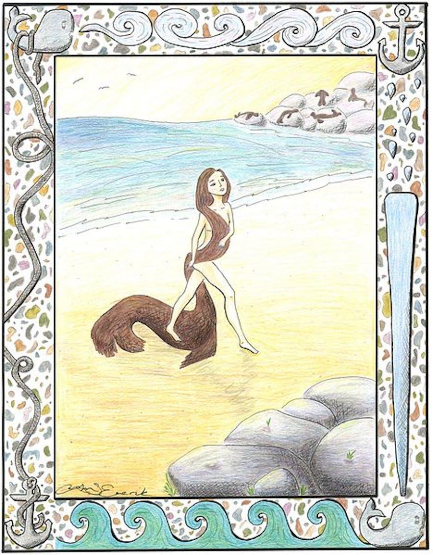 In Icelandic folklore, many seals hide a secret beneath their skin...