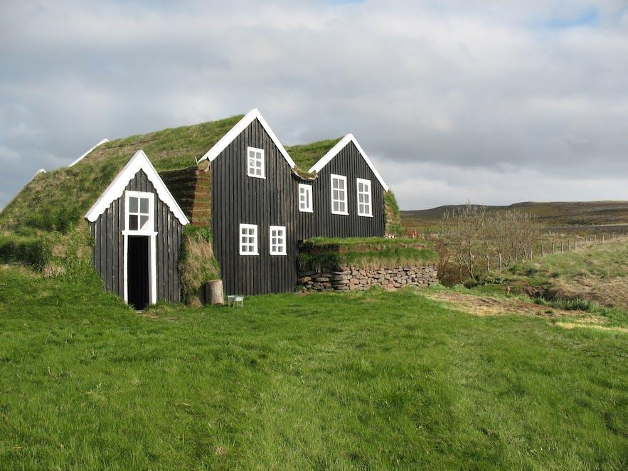 Mánárbakki Folk Museum in north Iceland