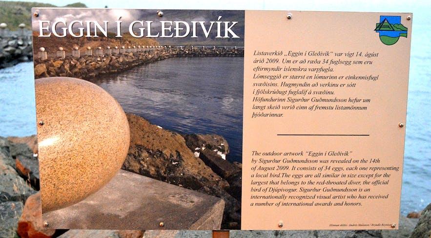 Djupivogur Village in East-Iceland and the Eggs at Gleðivík Bay