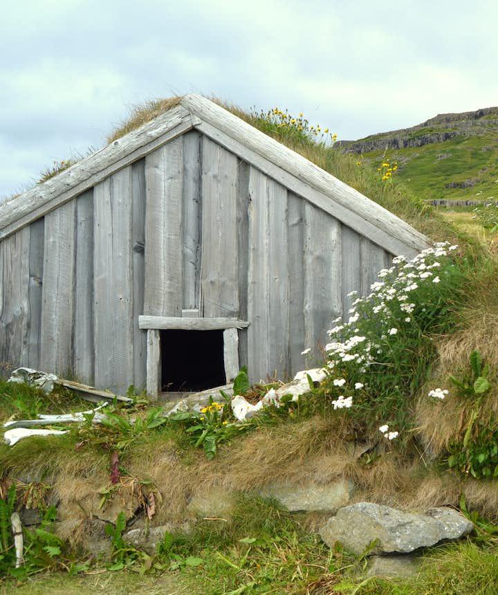 The Mystical Sorcerer's Cottage in Bjarnarfjörður in the Westfjords Region - Kotbýli kuklarans