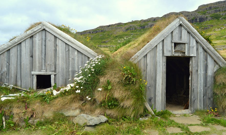 The Mystical Sorcerer's Cottage in Bjarnarfjörður in the Westfjords of Iceland - Kotbýli kuklarans
