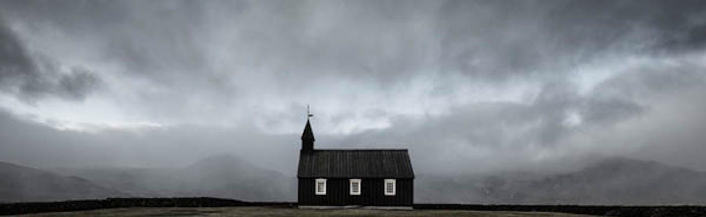 The Black Church of Budir as a Photography Location