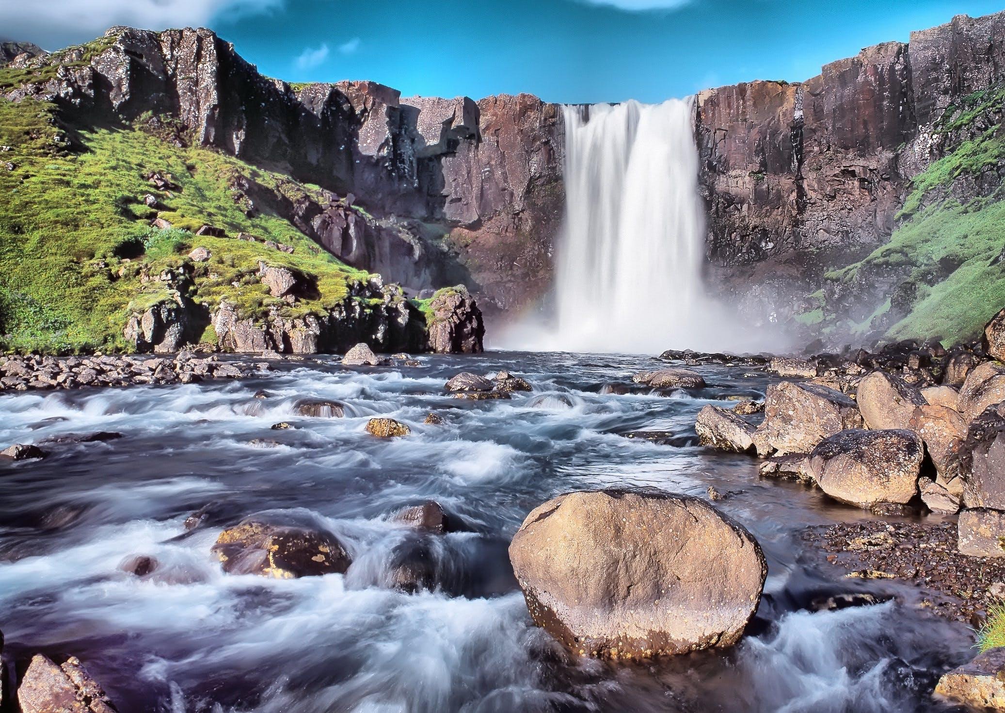 Thingvellir est le seul site classé au patrimoine de l'UNESCO en Islande