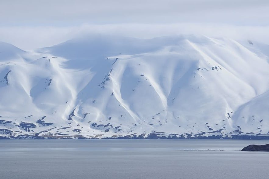 The landscape surrounding Dalvik is truly spectacular.