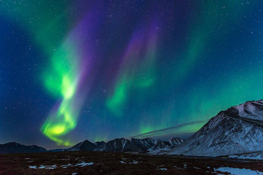 Winter in Iceland is the only time to see the Northern Lights, one of the beautiful natural phenomena known to man.