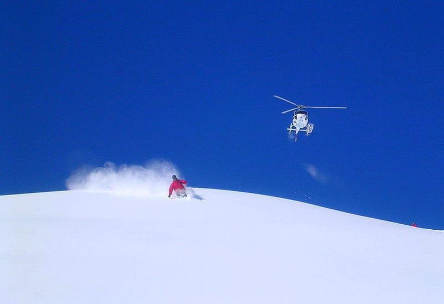 Heli-skiing presents a whole new range of challenges for the average thrill seeker.