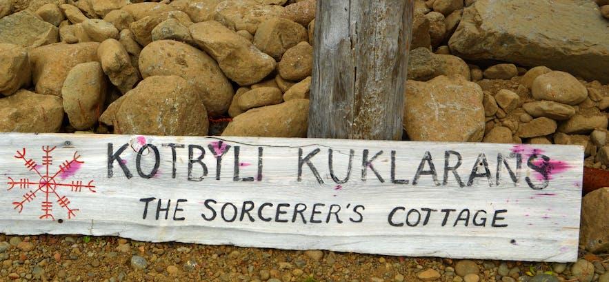 The Mystical Sorcerer's Cottage in Bjarnarfjörður in the Westfjords of Iceland - Kotbýli kuklarans