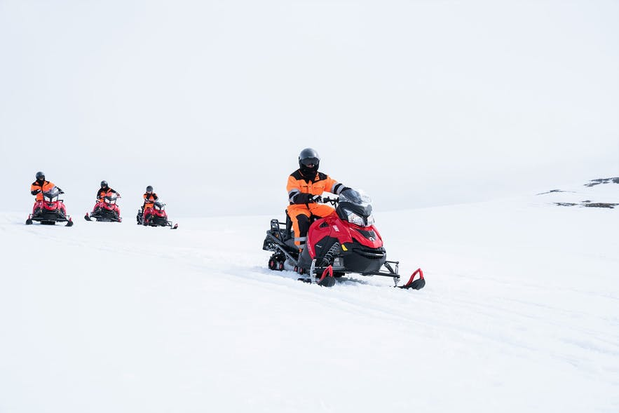 No feeling comes close to zooming across the white expanses of an Icelandic glacier.