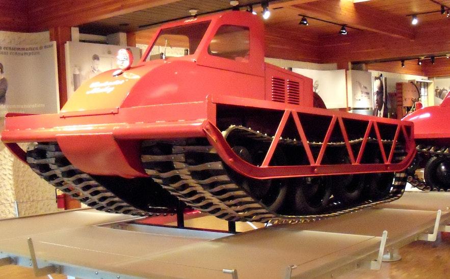 The Bombardier - postęp w technologii skuterów