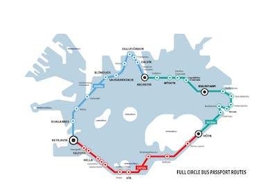 Passeport Bus Tour Complet de l'Islande