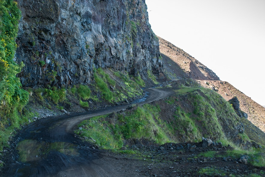 Day 7 of 3 week Iceland trip, most dangerous road on Iceland