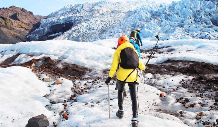 Дикая природа южного побережья   Водопады, черные пески и восхождение на ледник