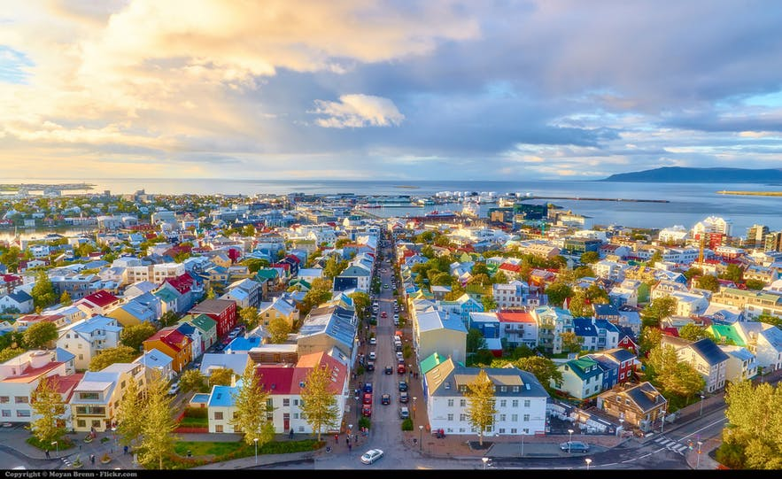 Il existe une multitude de types d'hébergement à Reykjavík.