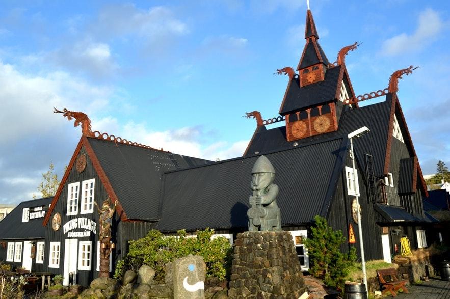 The Viking Hotel in Hafnarfjörður is a beautiful place just outside the capital.