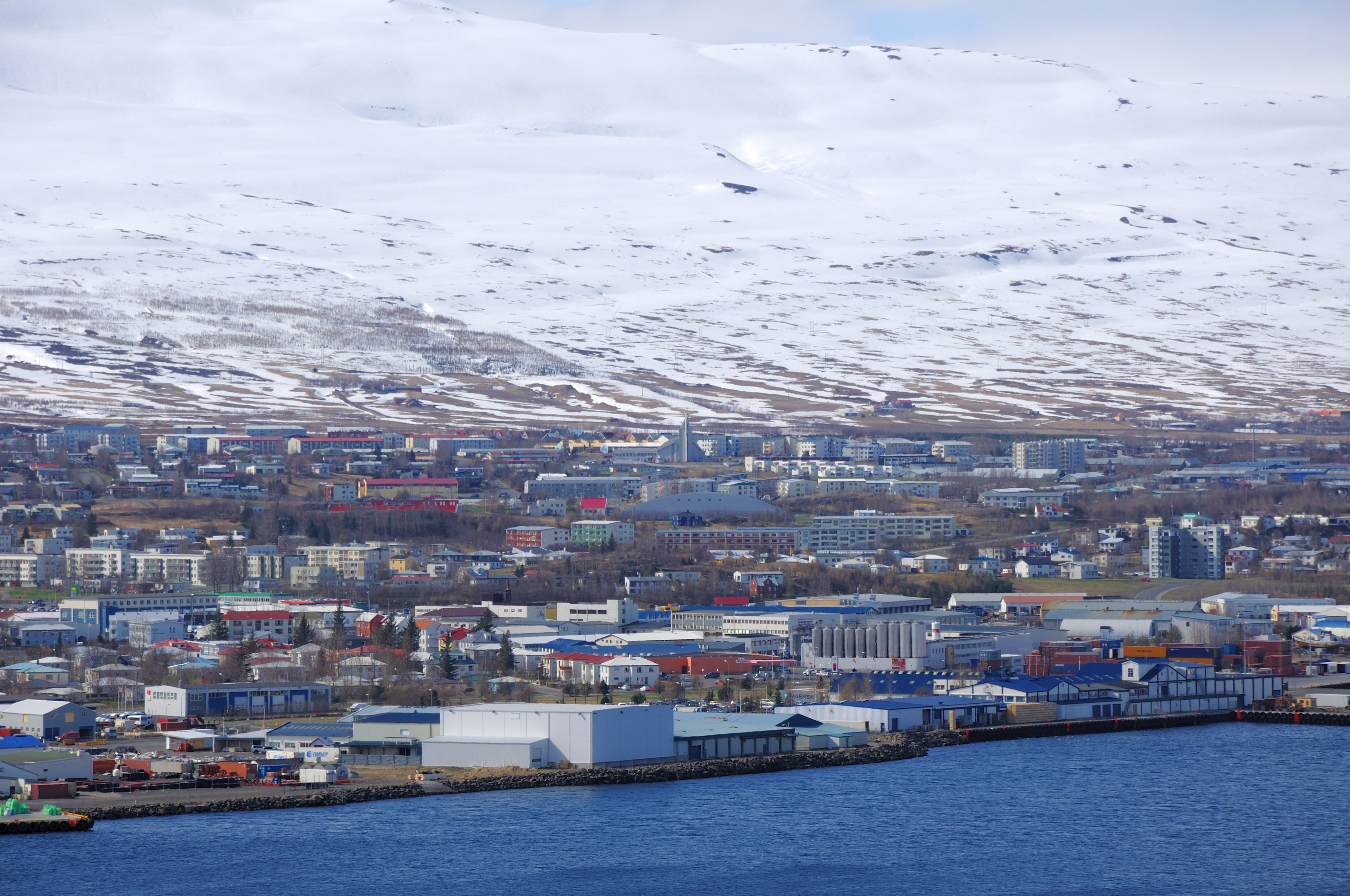 There are many hotels and hostels in Akureyri, the 'Capital of the North'.