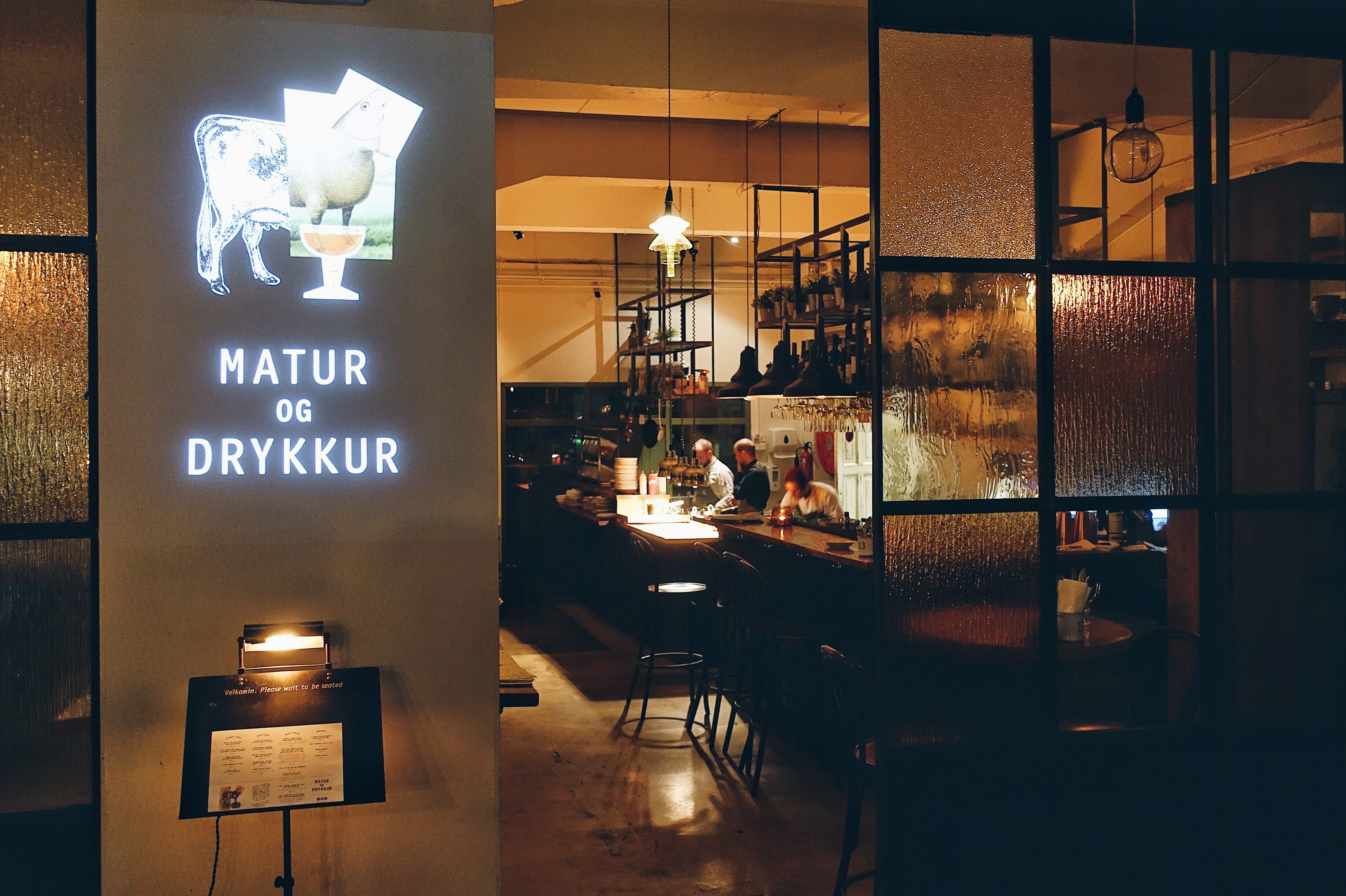 Matur og Drykkur - Traditional Icelandic cuisine with a modern twist