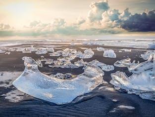 PRIVATE - Jökulsárlón Glacier Lagoon and the South Coast