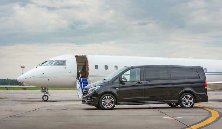 Transferring from Reykjavík to Keflavík in a brand new luxury van saves valuable travel time.