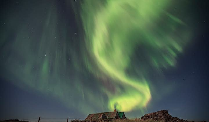 There's no knowing what colour, shape or pattern the Northern Lights will take at any given time.