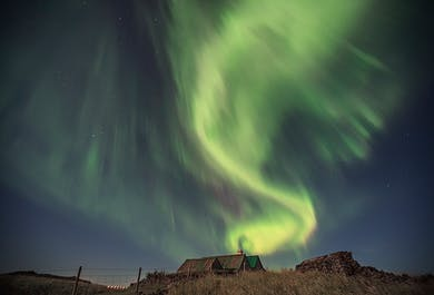2 Day Private Tour of the Magical Northern Lights, the Golden Circle and the South Coast