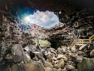 Lava Cave, Thermal Pool & Waterfalls