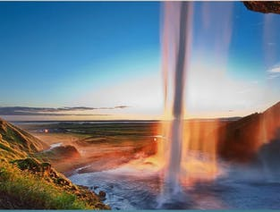 Southern Iceland Waterfalls and Beaches Day Tour