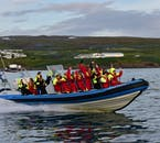Never forget to have fun while whale watching in Iceland.