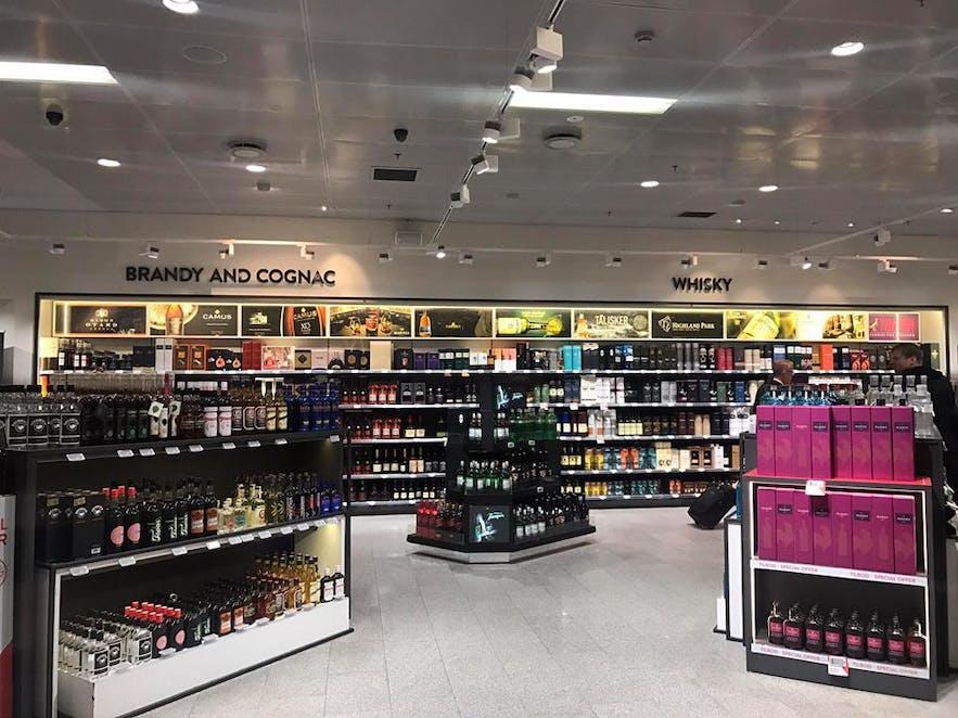 冰島機場 KEF 免稅店 酒