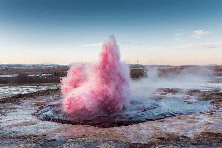 Nature de l'Islande en oeuvre d'art