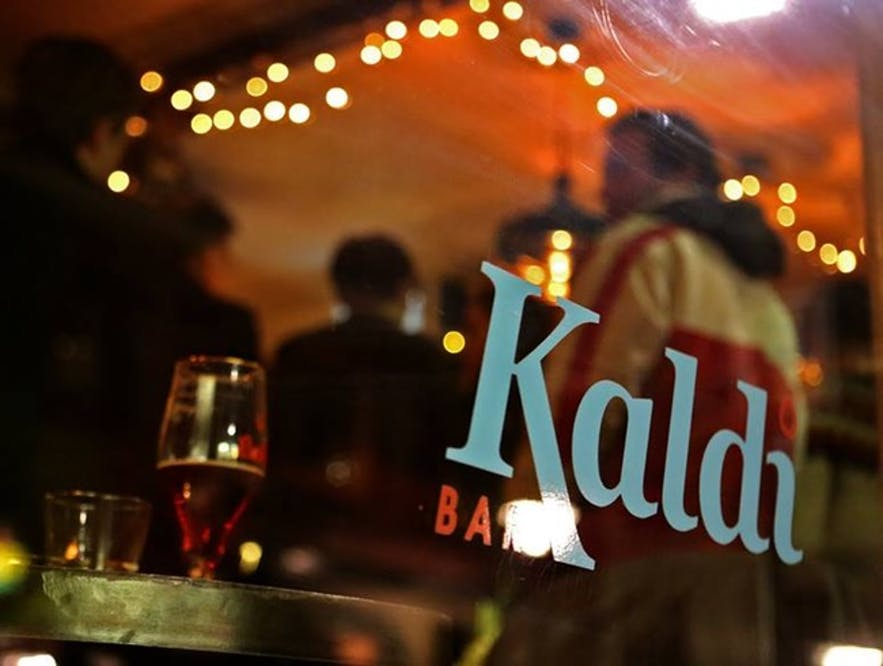Kaldi Bar in downtown Reykjavík serves good beer