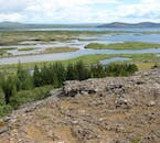 There are an amazing number of observation points over Þingvellir, providing stunning views.