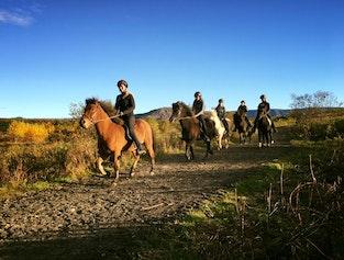 Loki tour - riding in the nature