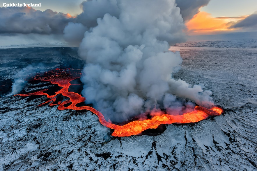 If any location in Iceland is prohibited due to the risk of an eruption, stay away.