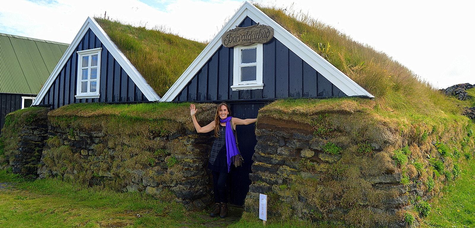 The Fishermen's Garden in Hellissandur on the Snæfellsnes Peninsula