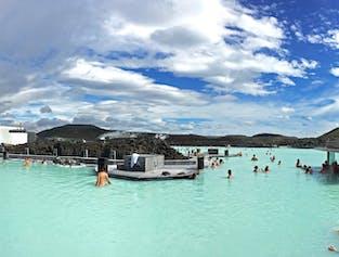 Blue Lagoon et visite de Reykjanes avec entrée incluse au lagon