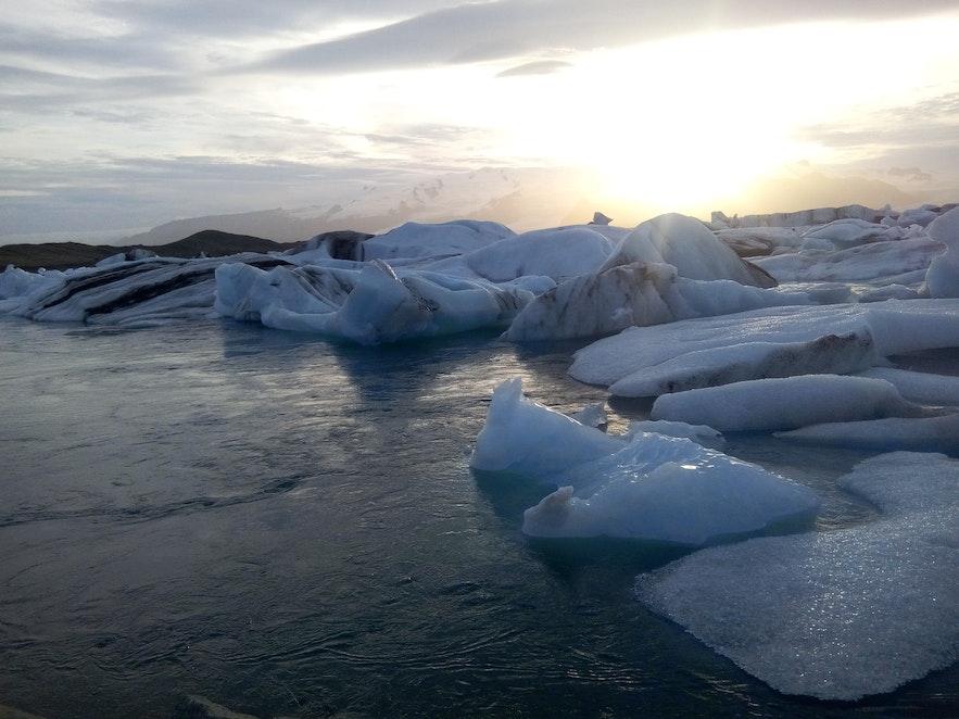 blocs de glace Jokulsarlon