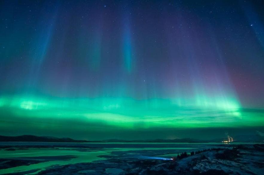 冰島看極光
