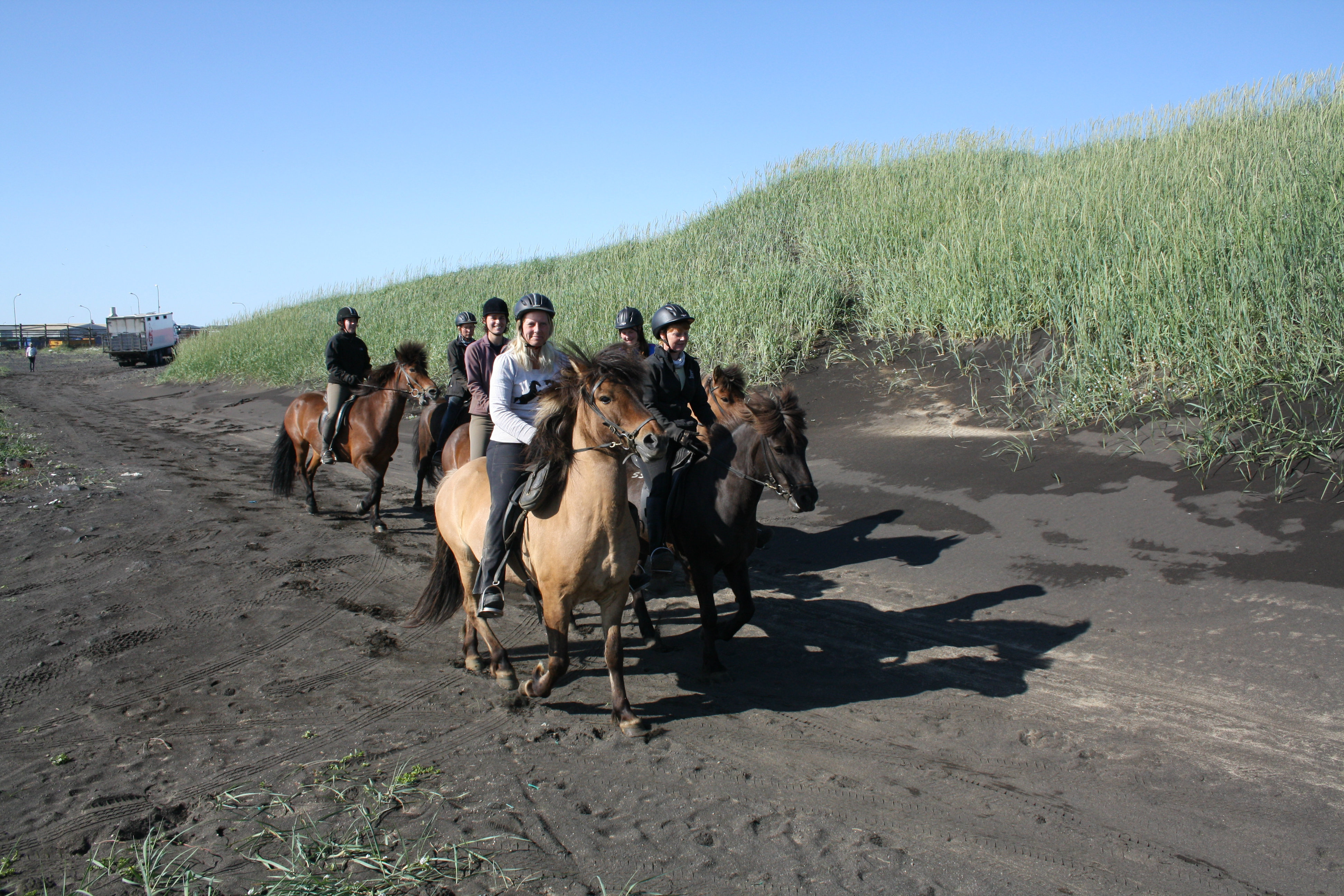 The Horse Riding Tour on a Beach allows you to experience 4 out of the 5 gaits of the Icelandic horse.