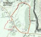 Itinéraire sur carte de votre balade à cheval
