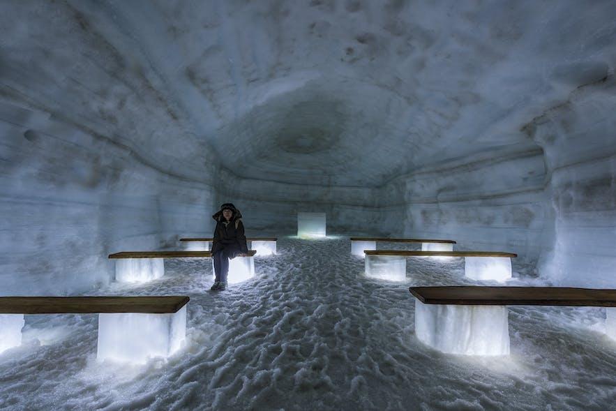 アイストンネルの中の様子