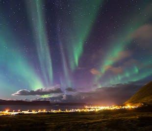 冬のウェストフィヨルド2日間 レイキャビクからの往復航空券、夕食付き