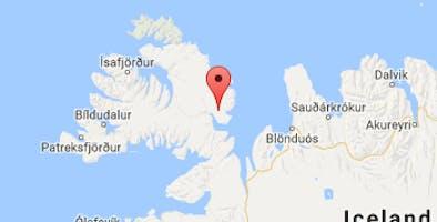 Bjarnarfjörður in Strandir