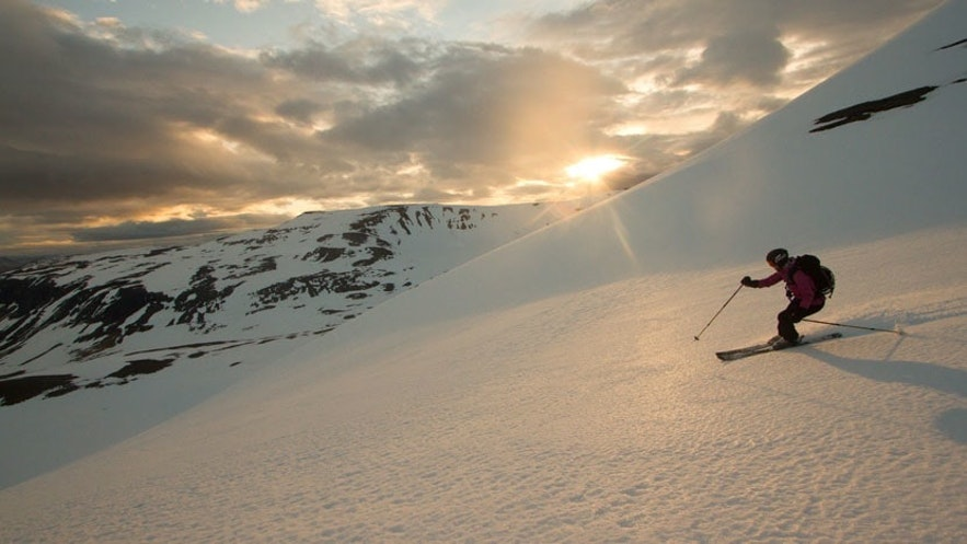 Isafjordur Ski Resort has excellent potential for back country trails.